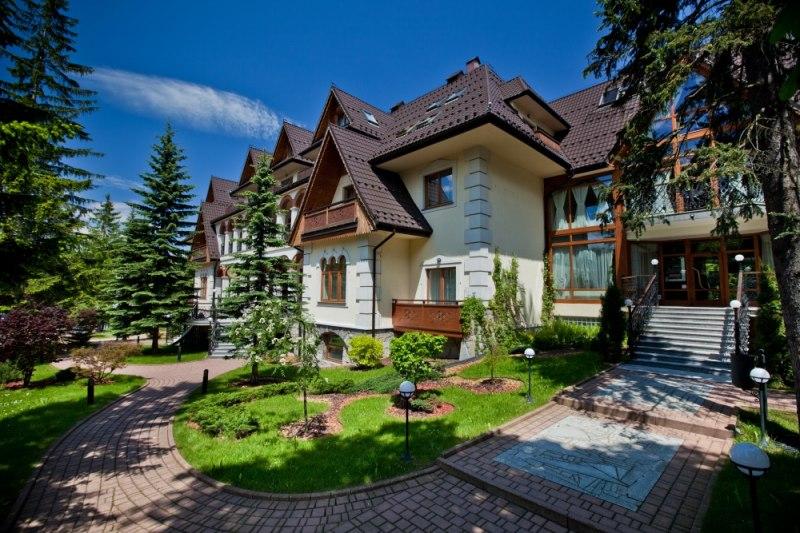 Hotel Belvedere Resort Spa Ul Droga Do Białego 3 Zakopane
