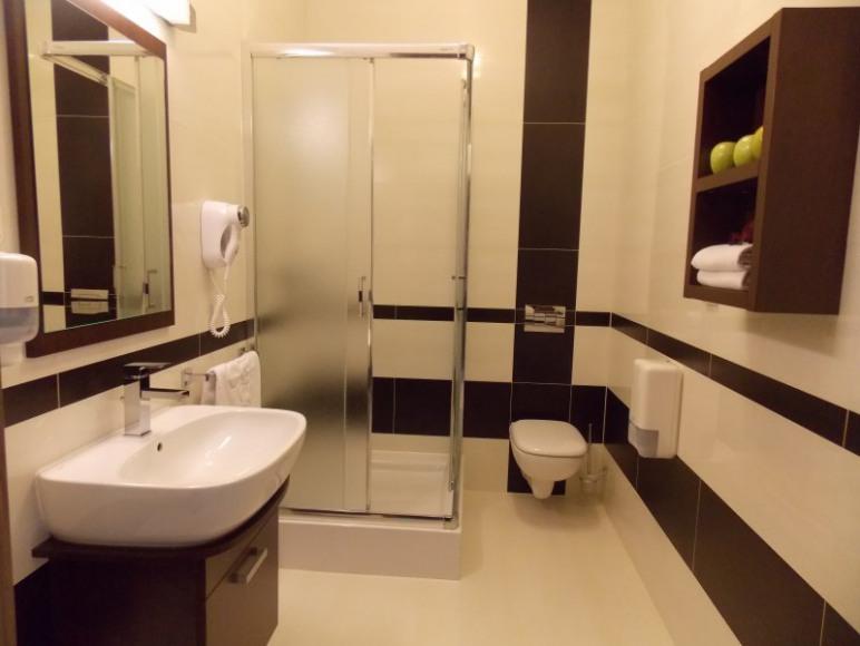 Apartamenty - łazienka