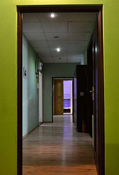 główny korytarz