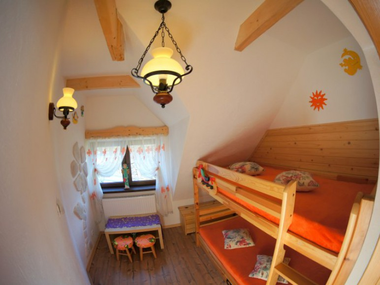 sypialnia - domek
