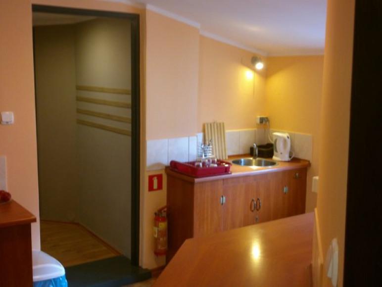 Kuchnia na 3 piętrze.