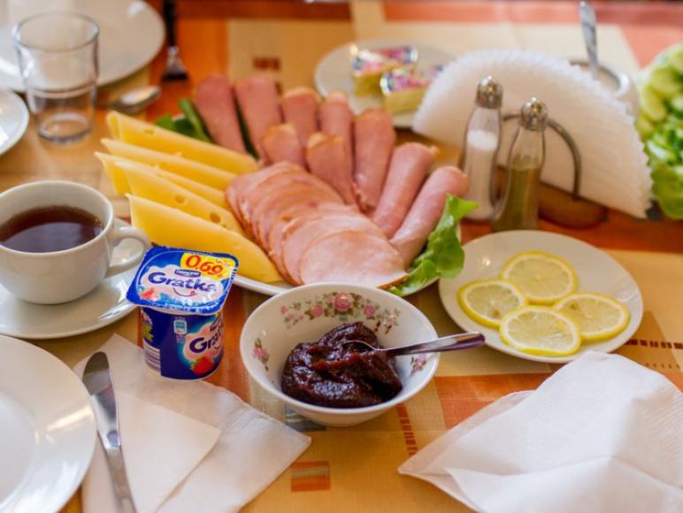 Śniadanie - propozycja podania