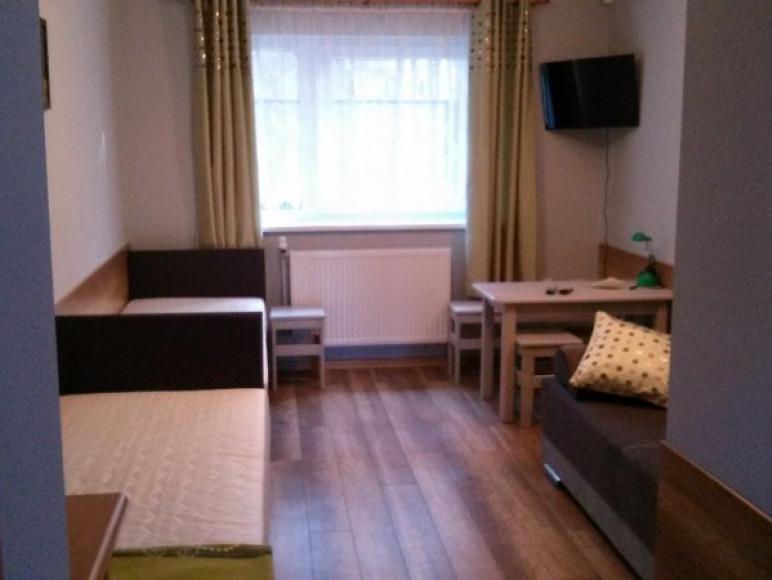 Pokoj 3,4 osobowy na parterze