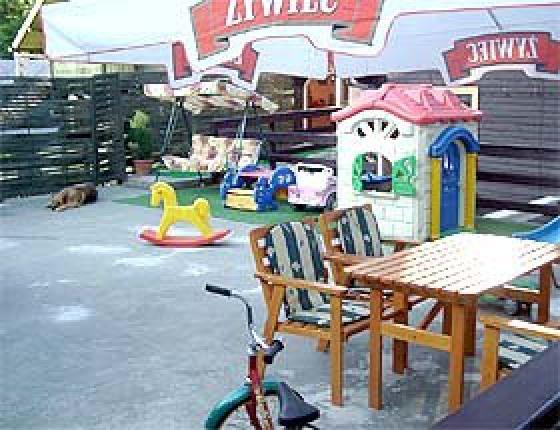 taras- miejsce wypoczynku i zabawy