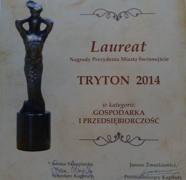 Ptaśkowy Tryton 2014