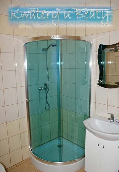 Łazienka w pokoju nr4.