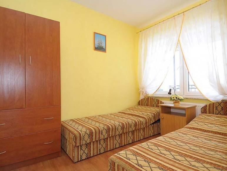 Sypialnia w apartamwncie