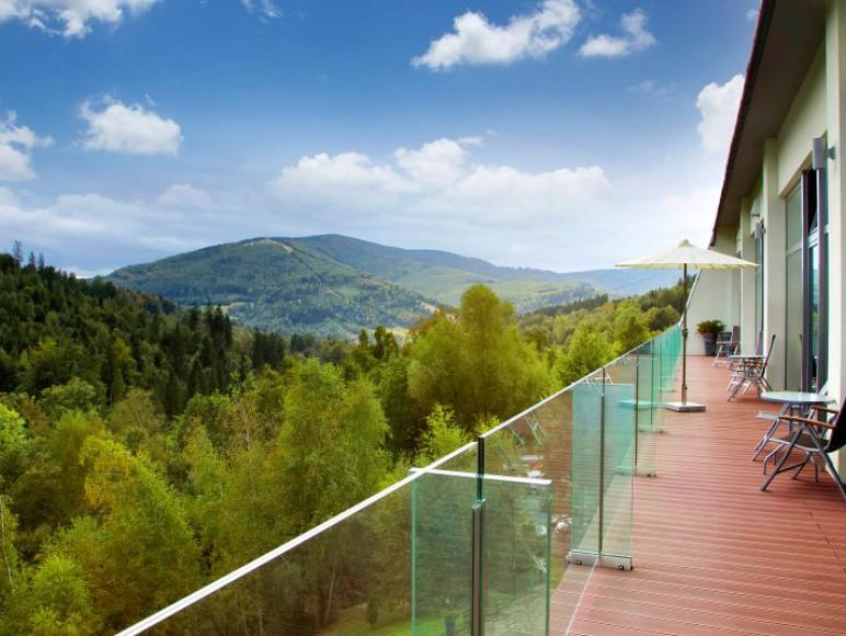Mazowsze widok z balkonu