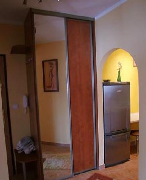 wejście z korytarza do kuchni