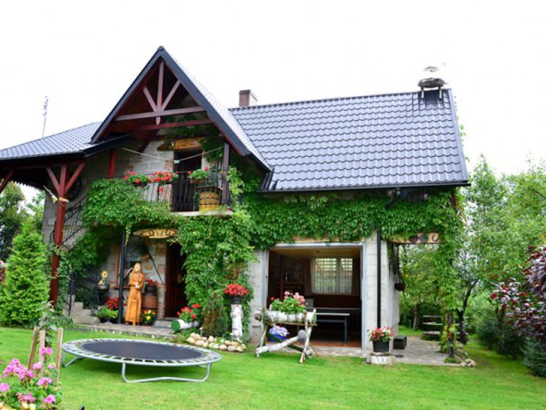 domek murowany