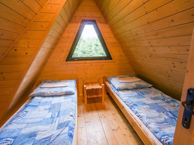 Domek typu C pokój 2 osobowy ( w domku typu C 4 pokoje 2 osobowe)