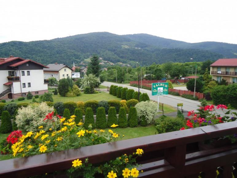 przykładowy widok z balkonu