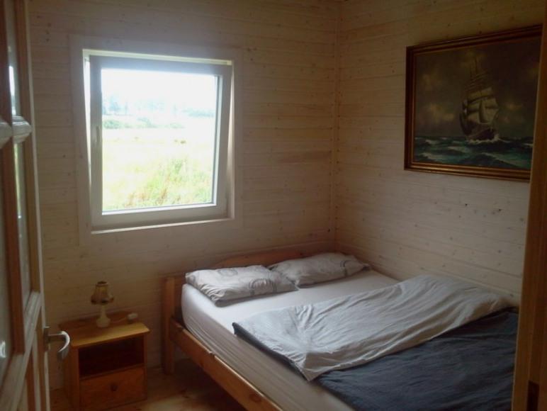 Domek sypialnia