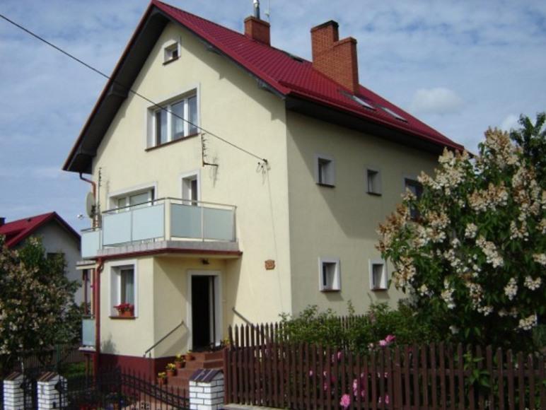 Widok domu z zewnątrz :)