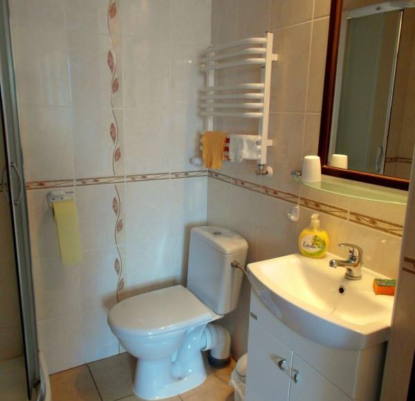 Łazienka pokoju nr 3 :)