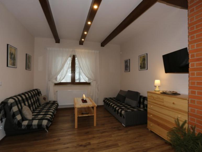 Apartament nr 1: pokój dzienny