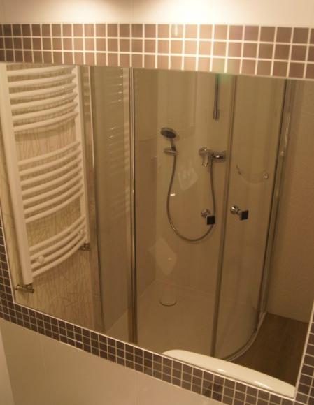 łazienka apartament z osobnym wejściem