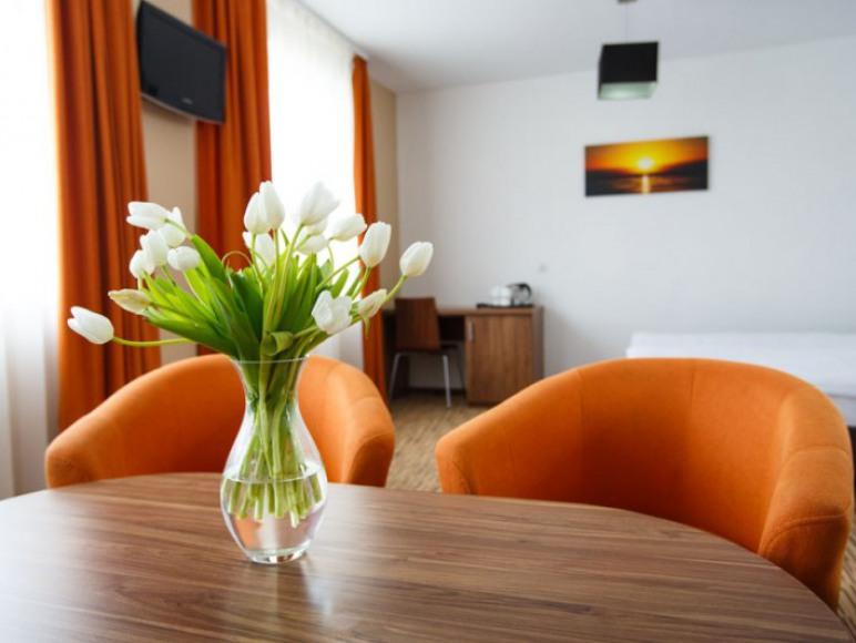 Zakwaterowanie możliwe także w pokojach w pensjonacie