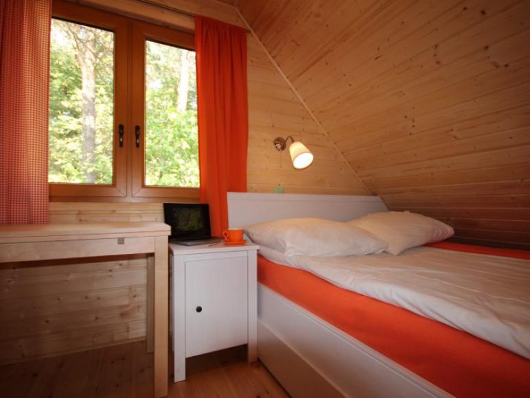 Sypialnia domki nad morzem Sztutowo