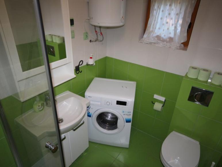 łazienka wczasy nad morzem domki ośrodek mierzeja Sztutowo