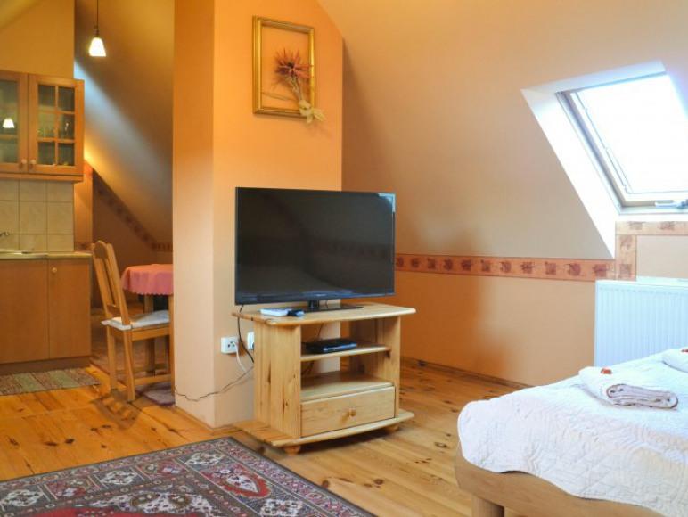 pokój Studio z aneksem kuchennym
