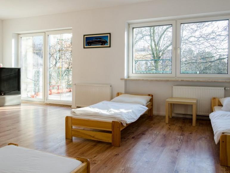 Koedukacyjna sala sypialna