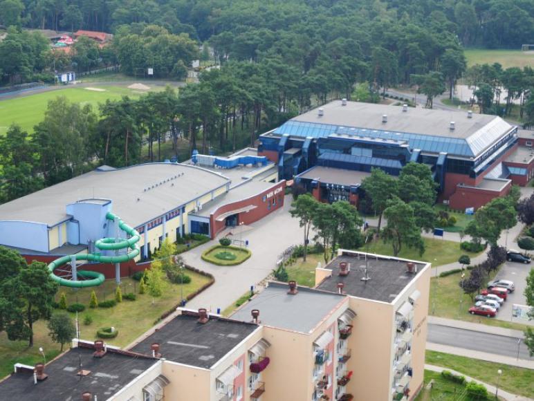 Hotel przy Ośrodku Sportu i Rekreacji