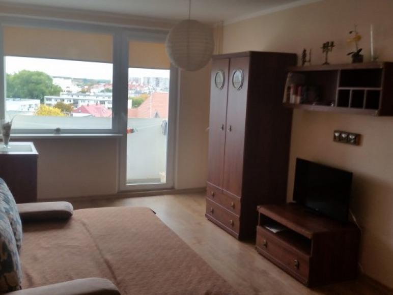 Duży pokój z balkonem - piękny widok