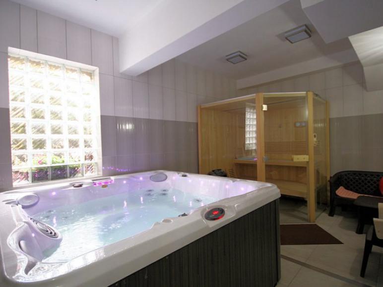 Małe Spa (sauna,jakuzzi)