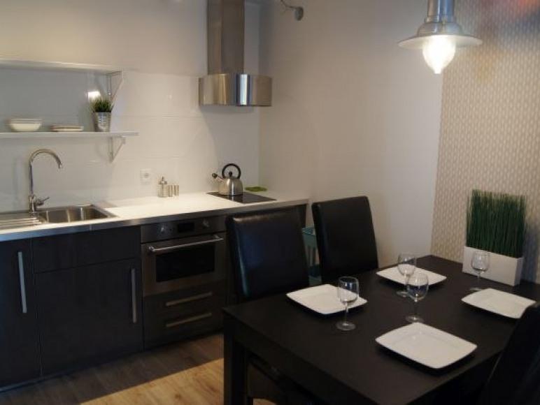 apartament czteroosobowy z aneksem kuchennym