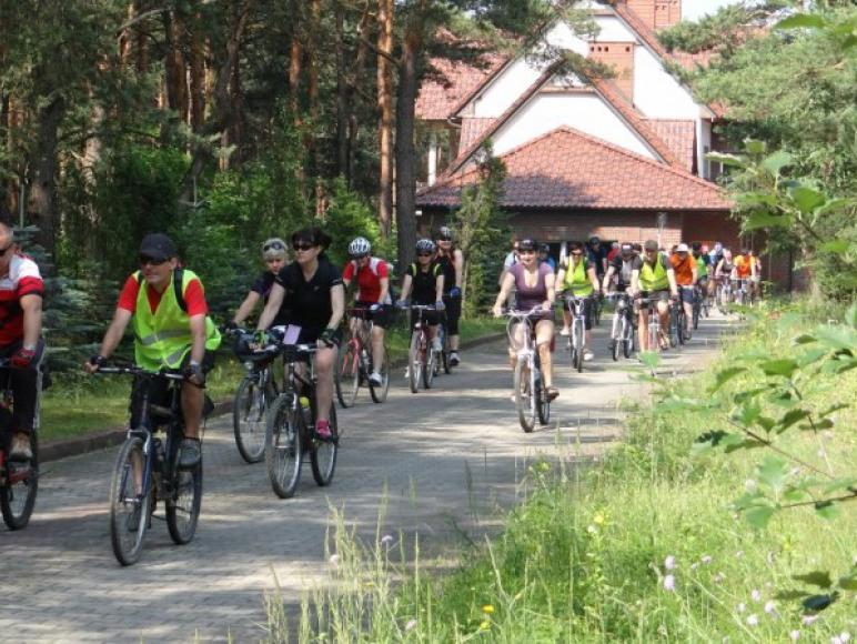 zjazd rowerowy