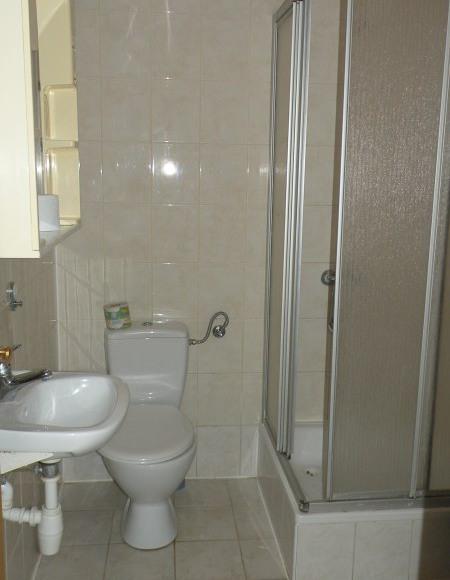 łazienka w pawilonie