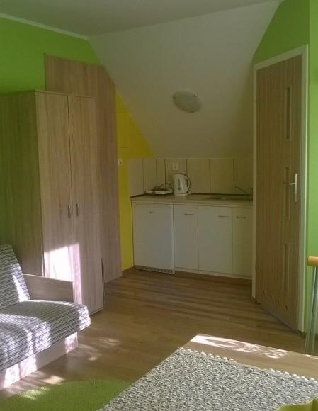 pokój nr 2 aneks kuchenny