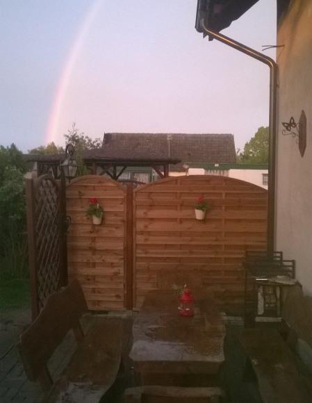 krajobraz po deszczu...