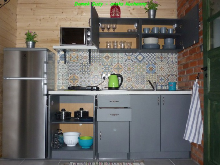 Domek Duży - aneks kuchenny