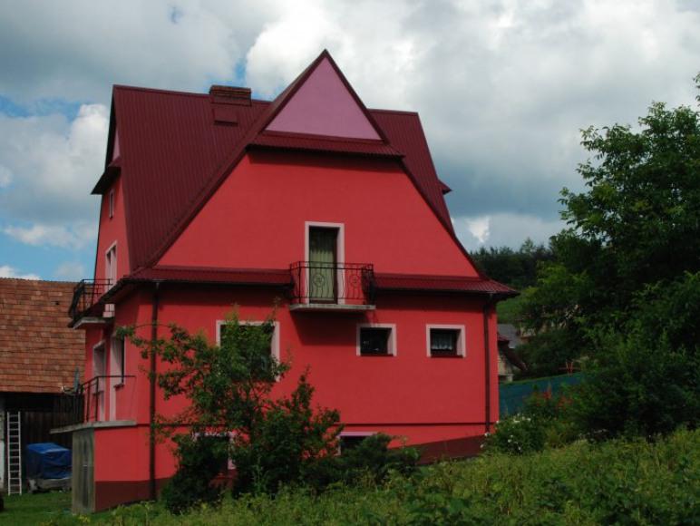 Malinowy domek