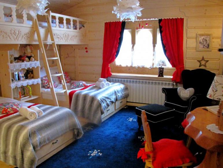 Sypialnia .
