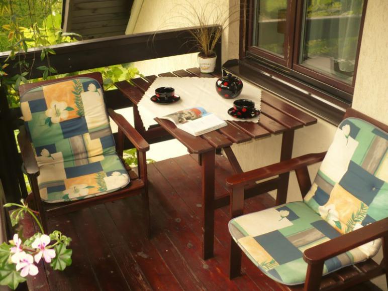 pokój Pod Aniołkiem, balkon