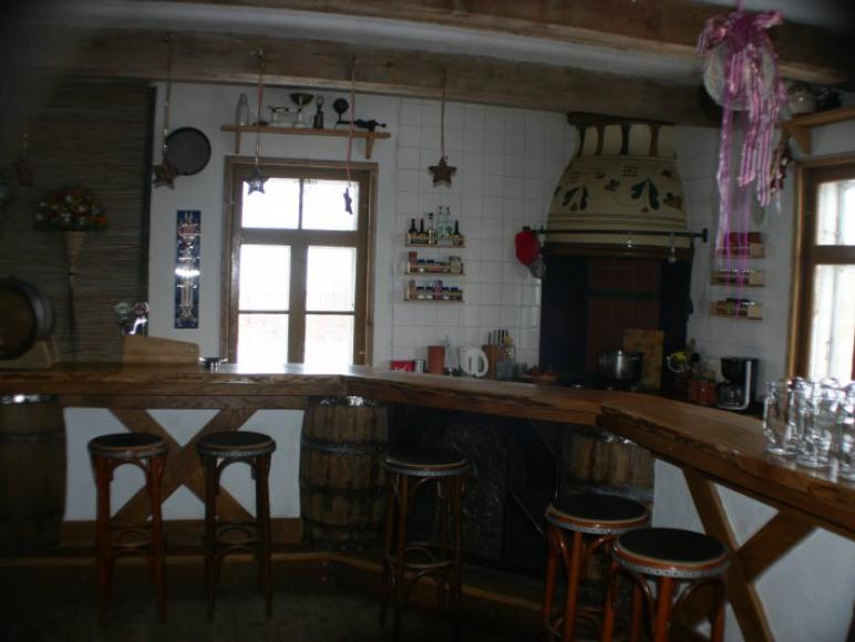 Parter - kuchnia/bar