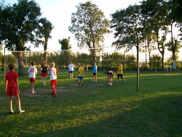 boisko do gry w piłkę siatkową