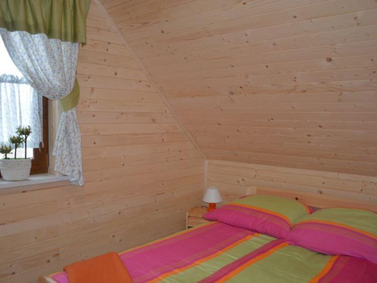 Sypialnia w nowym domku