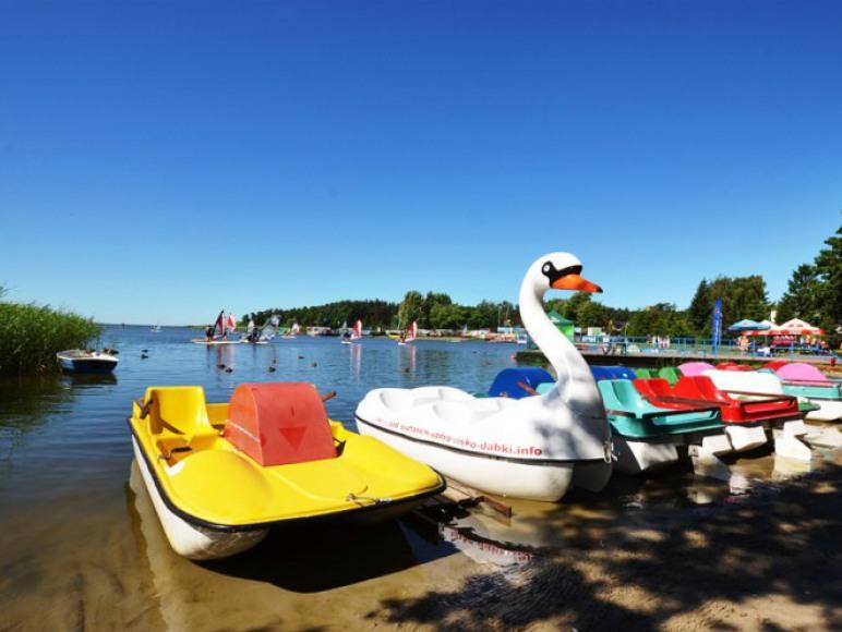 Jezioro Bukawo w Dąbkach