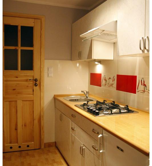 kuchnia w mieszkaniu dla 4-6 osó