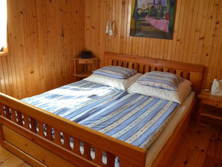 Domek Lewy - sypialnia