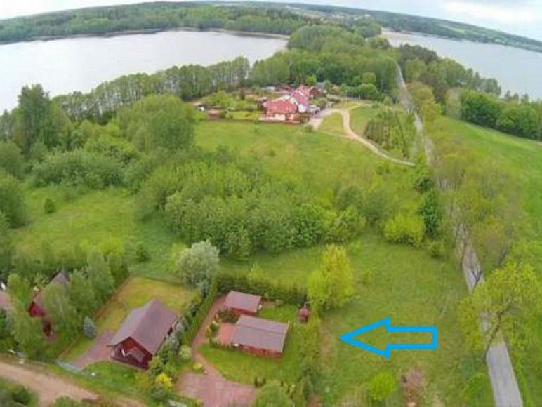 Osada nad jeziorem mazury Brożówka -Kruklanki