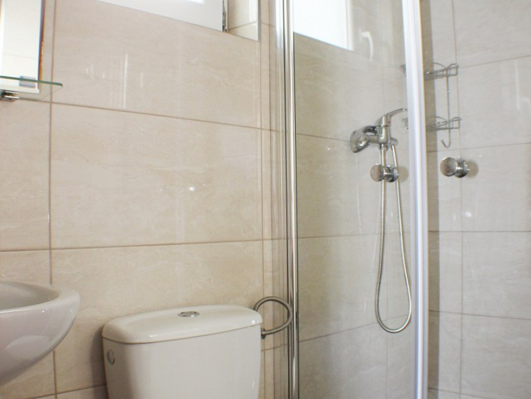Domek 2 osobowy łazienka