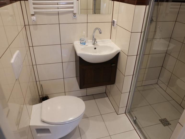 łazienka w APT 1 - Kosynierów