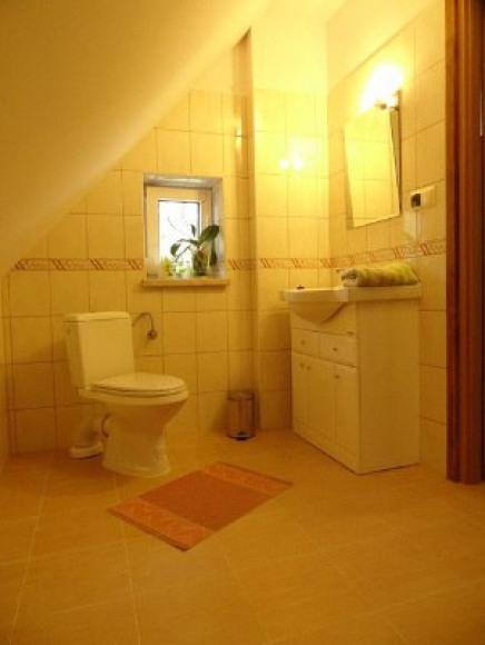 łazienka przy pokoju 3-osobowym