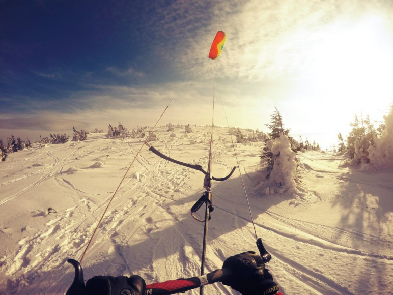 Szkolenia Snowkite