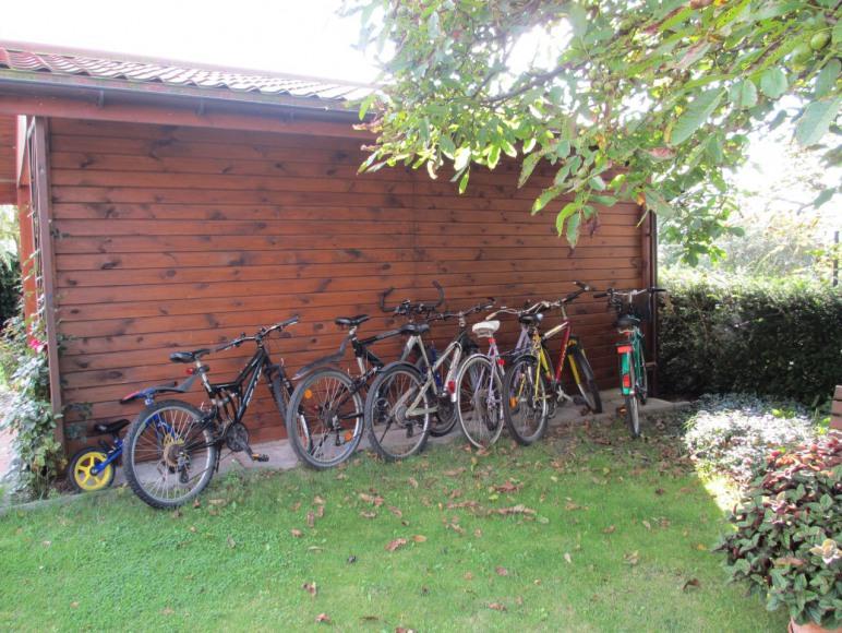 """Domki """"Widok""""- rowery dla gości"""